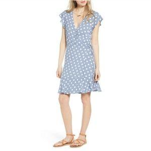 Rails Leanne Periwinkle Dot Dress